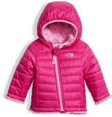 The North Face Girls' Reversible Mossbud Swirl Jacket, Pink, Size 3-24 Months
