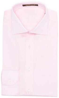 Roberto Cavalli Pink Cotton Dress Shirt