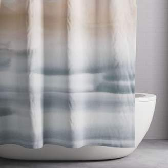 west elm Organic Sunrise Shower Curtain