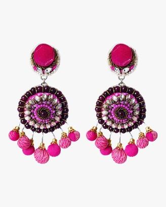 Ranjana Khan Pom Pom Clip-On Earrings