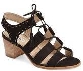 Dune London Women's 'Ivanna' Lace Up Block Heel Sandal