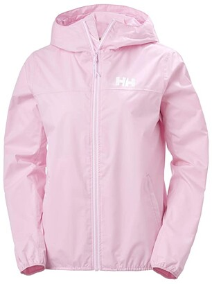 Helly Hansen Belfast II Packable Jacket (White Active Grid) Women's Clothing