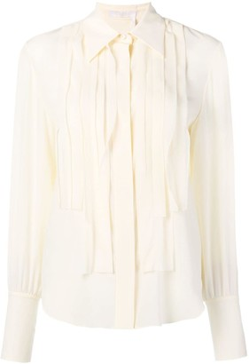 Chloé Pleated Placket Shirt