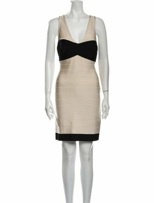 Herve Leger Hollis Mini Dress