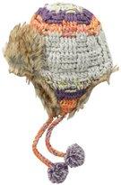 San Diego Hat Company San Diego Hat Big Girls' Fur Trimmed Trapper