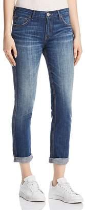 True Religion Cameron Caballo Flap Boyfriend Jeans in Vintage Hard Press