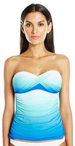 Bleu Rod Beattie Women's Fun in the Sun Twist Bandeau Tankini