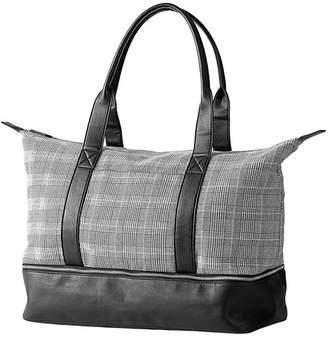 Cathy's Concepts Glenplaid Luggage Tote Bag