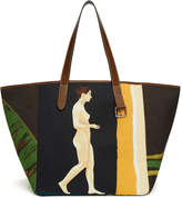 J.W.Anderson Multicolor Palm Lady Belt Tote