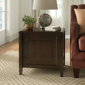 Three Posts Gorlest End Table with Storage