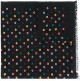Paul Smith woven polka dot scarf - men - Silk/Cotton/Viscose/Modal - One Size