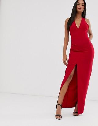 Vesper bow back maxi dress