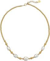 Majorica Allison Baroque Bead Necklace