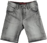 Zadig & Voltaire Stonewashed Stretch Denim Jean Shorts