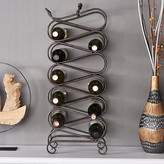 Welland Industries LLC 11 Bottle Floor Wine Rack
