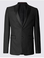 Limited Edition Black Textured Modern Slim Fit Jacket