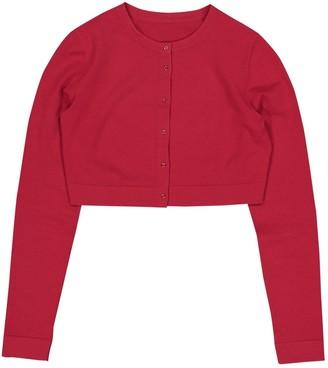 Alaia Red Wool Knitwear
