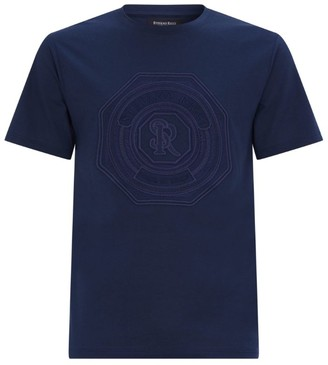 Stefano Ricci Embroidered Emblem T-Shirt