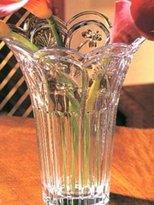 "7""""h Crystal Thistle Vase [Kitchen]"