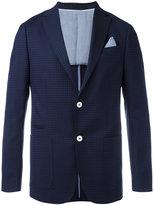 Z Zegna embroidered blazer - men - Cotton/Wool - 48