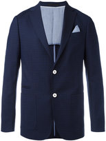 Z Zegna embroidered blazer - men - Cotton/Wool - 52