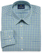 STAFFORD Stafford Travel Performance Super Shirt Long-Sleeve Broadcloth Plaid Dress Shirt