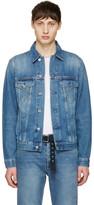 Acne Studios Blue Denim Beat Jacket