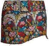 Marques Almeida MARQUES'ALMEIDA Floral-brocade mini skirt