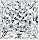 Charles & Colvard 4.0MM Princess Cut Forever Classic Moissanite by Very Good Cut (0.33ct Actual Weight, 0.37ct. Diamond Equivalent Weight)