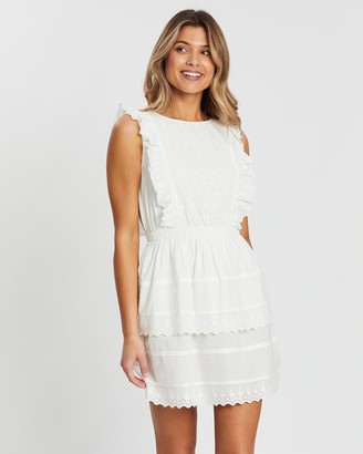 Atmos & Here Juliette Ruffle Lace Dress
