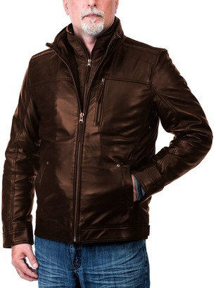 Men's Franchise Club Euro Bomber Jacket