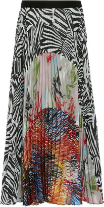 Missoni Multi Print Midi Skirt