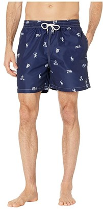 Polo Ralph Lauren Traveler Swim Trunks (Blue) Men's Swimwear