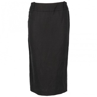 Antonio Marras Black Cotton Skirt for Women Vintage
