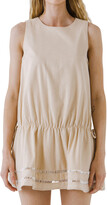 Thumbnail for your product : ENGLISH FACTORY Sleeveless Tie-Back Mini Dress