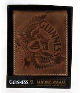 Guinness Leather Wallet With Wings Print