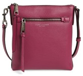 Marc Jacobs Recruit Leather Crossbody Bag - Pink
