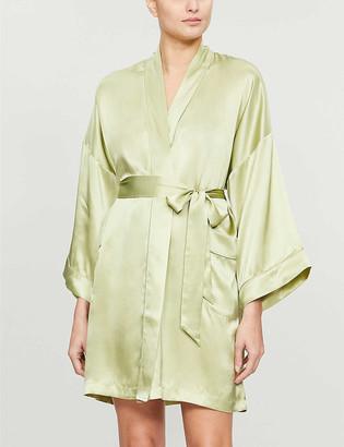 Nk Imode Solange silk-satin short robe