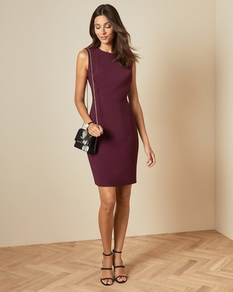 Ted Baker SSKYED Stitch detail fitted dress