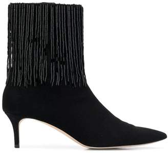 Christopher Kane embroidered ankle boots