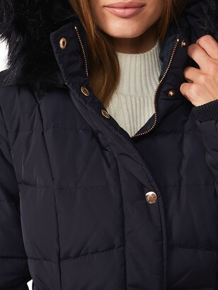 Phase Eight Vicky Puffer Coat, Navy