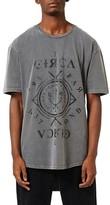 Topman Men's Circa Graphic Longline T-Shirt