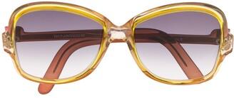 Yves Saint Laurent Pre Owned 1970s Oversized Frame Sunglasses
