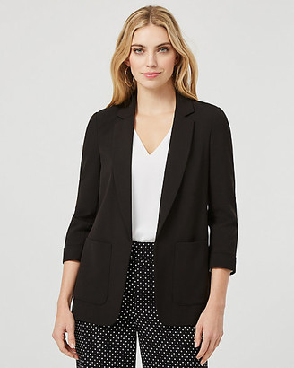 Le Château Notch Collar Relaxed Fit Blazer