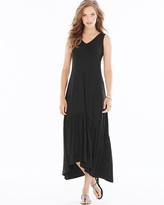 Soma Intimates Tiered Maxi Dress