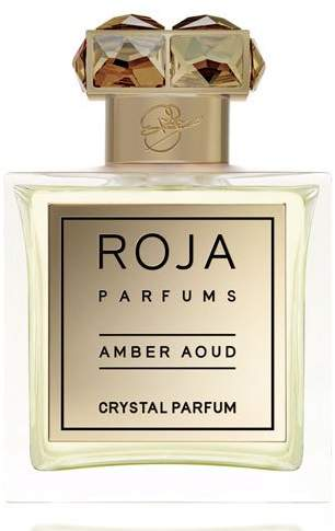 BKR Roja Parfums Amber Aoud Crystal Parfum, 3.4 oz./ 100 ml