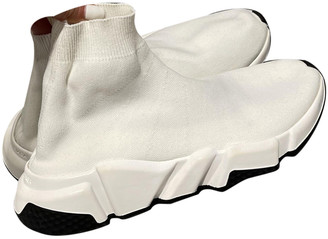 Balenciaga Speed White Cloth Trainers