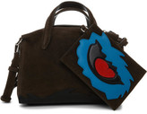 3.1 Phillip Lim Ames Small Patchwork Satchel Combo Suede