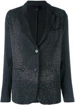 Avant Toi two button blazer - women - Linen/Flax/Cotton/Cashmere/Aluminium - S