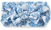 Starting Out Baby Girls Vintage Wallpaper Floral-Print Knotted Headband